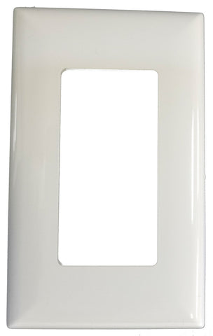 Wall Cover Plate - White