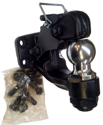 "Pintle Combination Hitch, 2-5/16"" Ball, 12,000 / 16,000 / 3,000 LB"