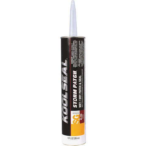 Roof Cement - Acrylic - White, 10.5 OZ. Cartridge