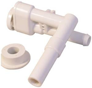 RV Toilet Vacuum Breaker Kit with Extension (toilets without hand spray)