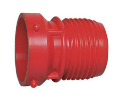 "3"" Sewer Hose x Male Bayonet Adapter"