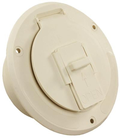 Cable Hatch - Round Mounting Flange