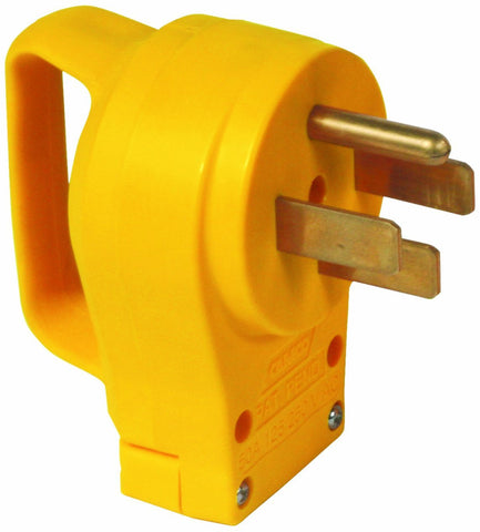 50 Amp Male Cord End with Grip Handle