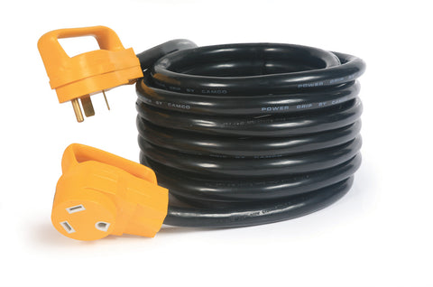 30 Amp 25' 125V Extension Cord with Grip Handles