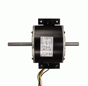 Double Shaft Motor, 115V, 1/4HP 1585 RPM, 3 Speed, Dometic Brisk Air II Motor 3315332.005