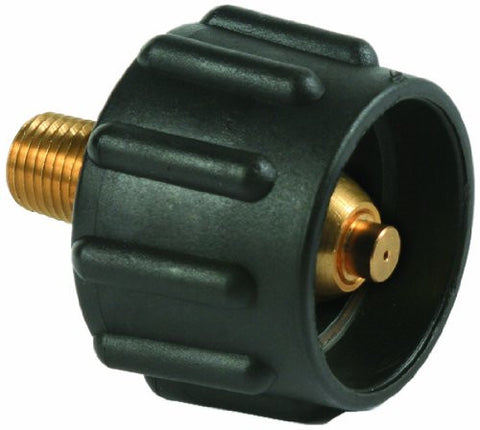 "LP Black Female ACME Nut x 1/4"" Male NPT <70,000 BTU/H"