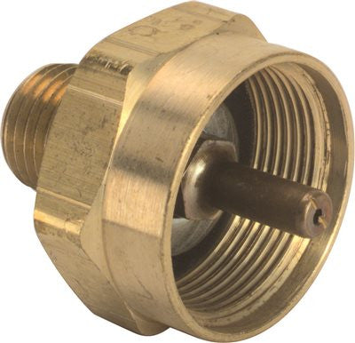 "LP Adapter Throwaway Cylinder Female 1""-20 x 1/4"" MPT"