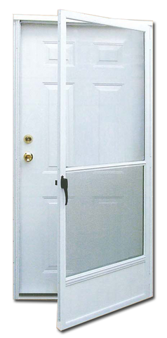6 Panel Steel Combination Door for Mobile/Manufactured Homes – Tyree on right hand outswing patio door, 21 inch 6 panel door, moisture inside storm door, residential 6 panel door, victorian 6 panel door, moble homes front door, white exterior paneled door, raised 6 panel interior door, 24 x 78 interior door,