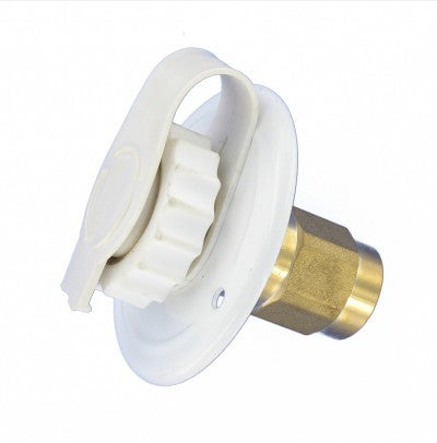 RV City Water Fill - Flush Mount with Check Valve
