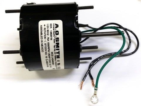 "3.3"" Vent Motor; 1/50 HP, 1550 RPM, CW, OAO"