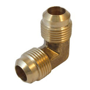 Flare Elbow 90, Brass