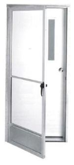 Fiberglass Entry Door with Storm