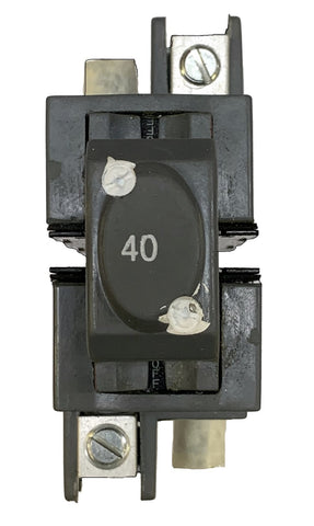 40 Amp Circuit Breaker, Pushmatic Bulldog, UBIP240, 2-Pole