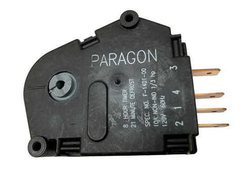Defrost Timer, Paragon F1400-00, Whirlpool 1114283, 8 HRS 21 MIN