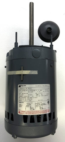 Condenser Fan Motor; 460/200-230, 1075 RPM, 1 HP, C770, 8-177248-01