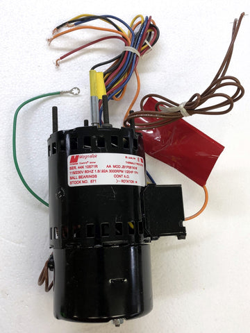Dual Voltage Motor; 115/230, 3000 RPM, 1/20 HP, 571
