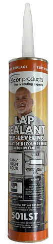 Caulk - Tan, Self Leveling Lap Sealant
