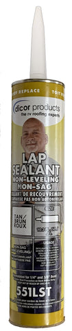 Caulk - Tan, Non-Leveling Non-Sag Lap Sealant