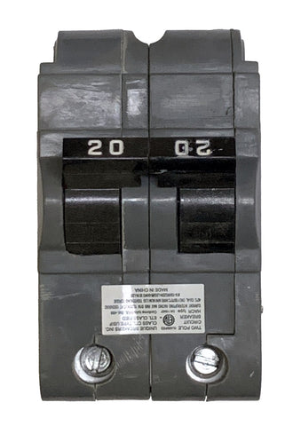 20 Amp Circuit Breaker, Federal Pacific UBIF-220N Thick, 2-Pole