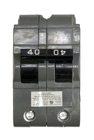 40 Amp Circuit Breaker, Federal Pacific UBIF-240N Thick, 2-Pole