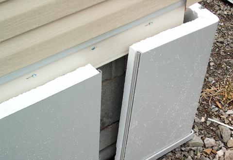 Insulated Vinyl Skirting Panel