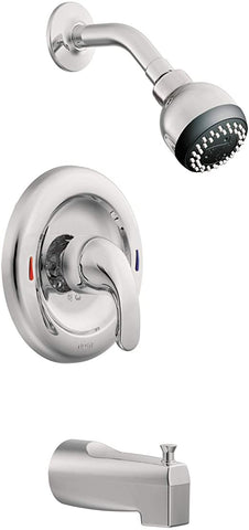 Tub and Shower Faucet - 1 Handle Style Moen