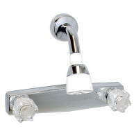 "Shower Faucet - 8"" Surface Mount"