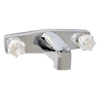 "Tub and Shower Faucet - 8"" Surface Mount Style"