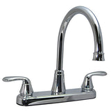 Kitchen Faucet 2 Handle -Hybrid Underbody