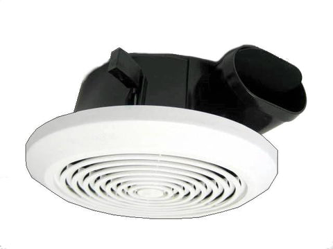 Ceiling Exhaust Vent - Horizontal Air Discharge