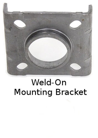 Trailer Jack Mounting Bracket - Swivel Retaining Ring Style