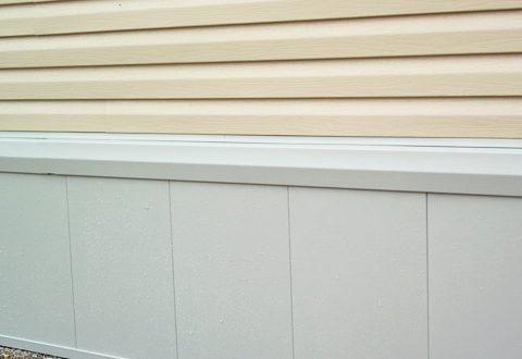 Insulated Vinyl Skirting Panel Tyree Parts And Hardware