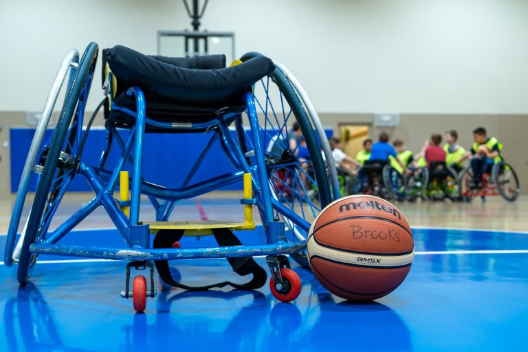 One Basketball Wheelchair Delivered to Viscardi!