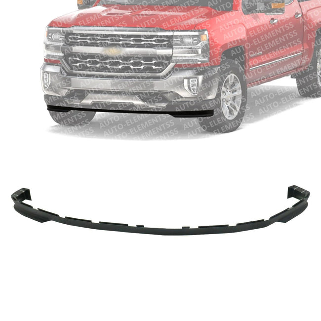 Front Lower Valance Air Deflector Extension For 2016 2018 Chevrolet Si Auto Elementss