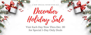December Holiday Sale | Discounts, BOGOs, Freebies and More!...