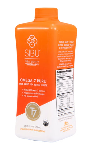 Sibu Omega-7 Pure 100% Pure Sea Berry Puree