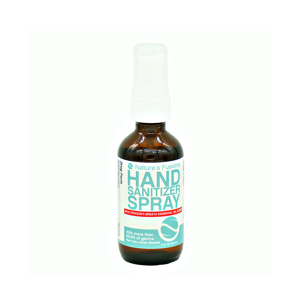 Nature's Fusions Hand Sanitizer Spray