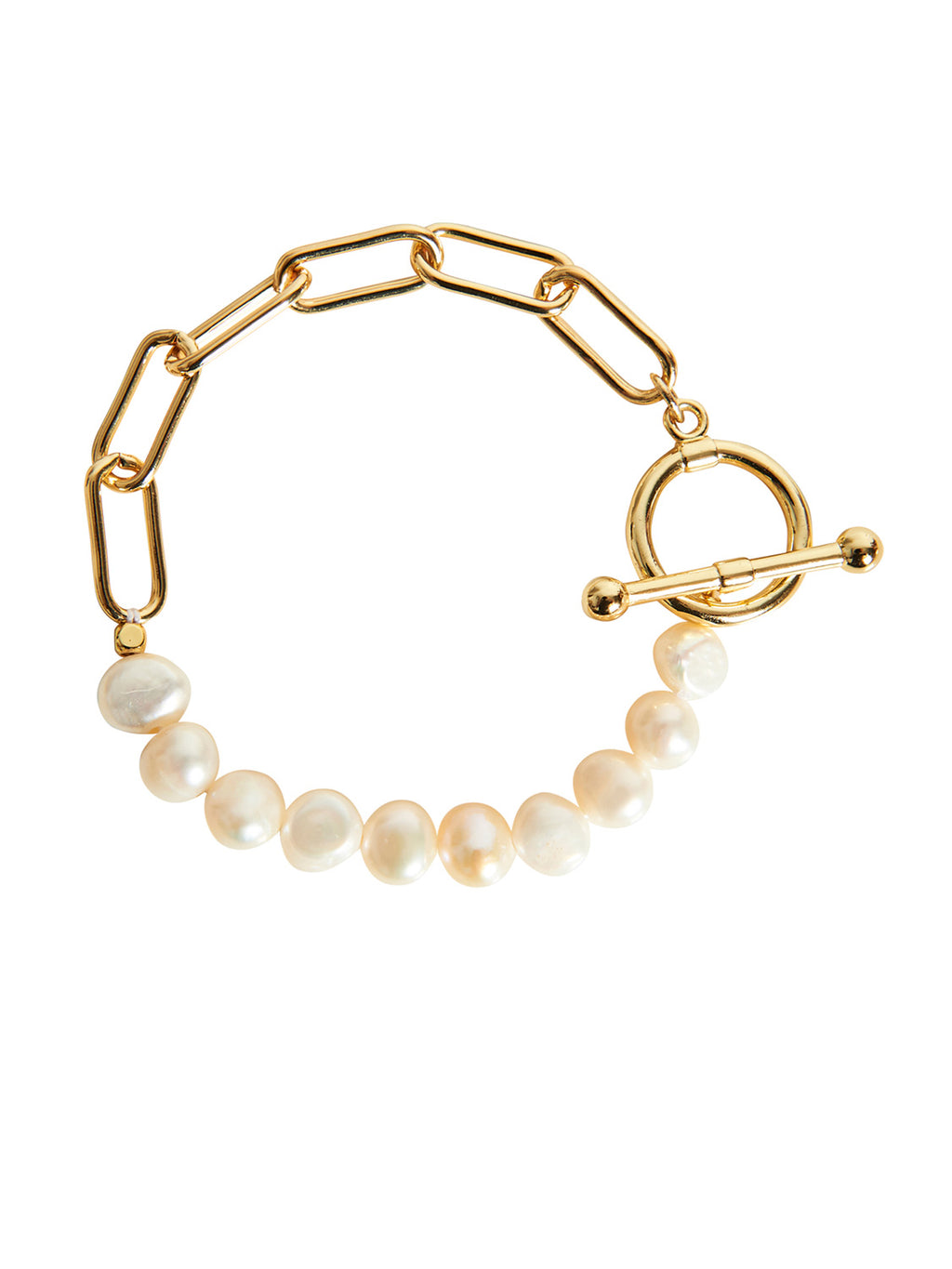 Tranquil Chain Bracelet - Pearl