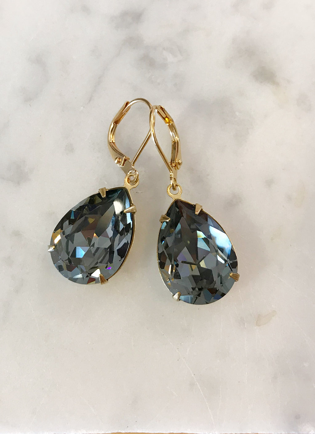 Lola Earring - Black Diamond