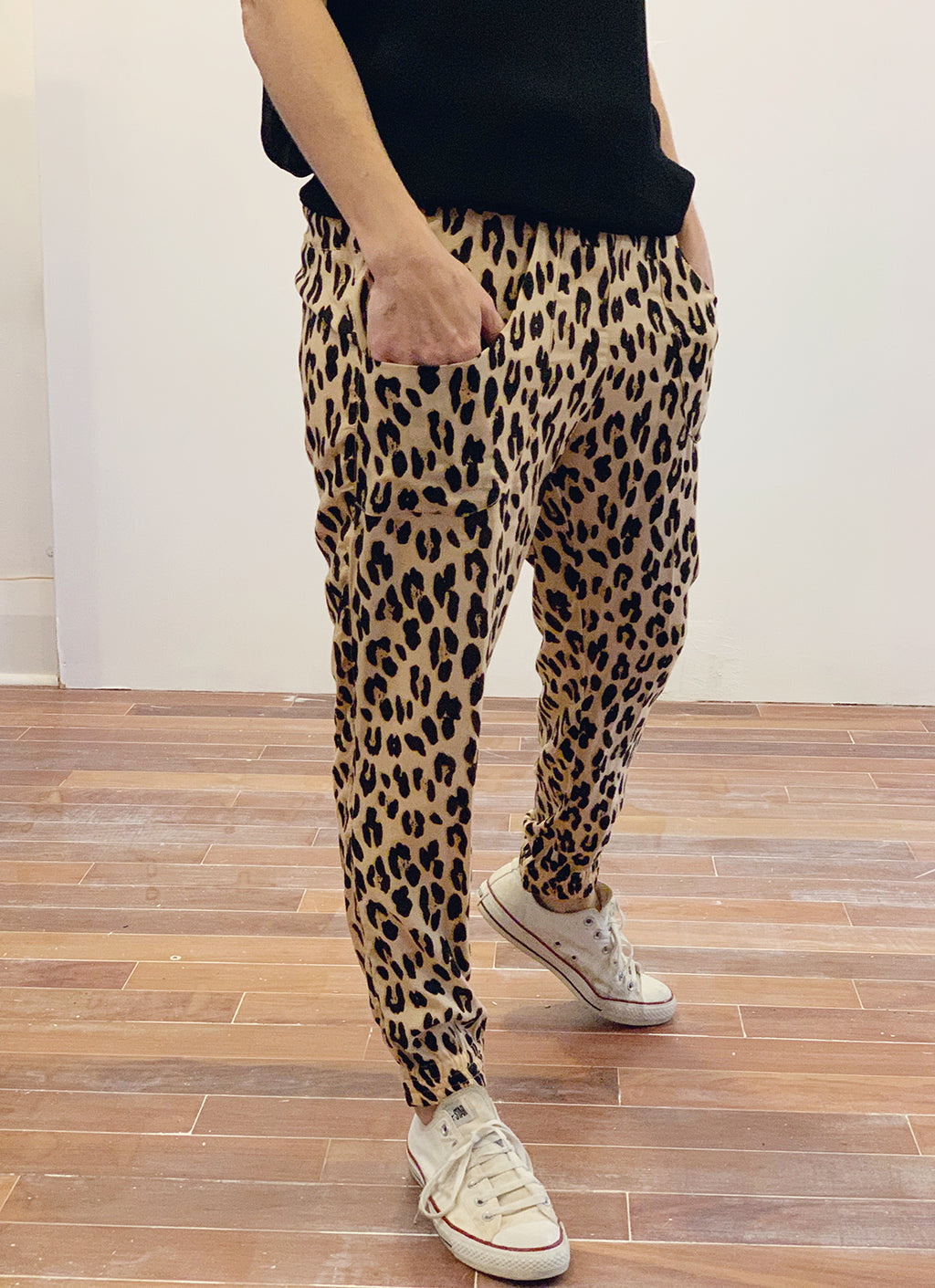 Sweet Papillon Pants - Leopard