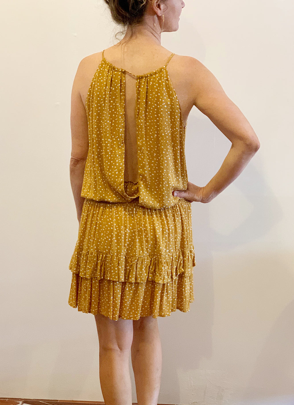 Mia Dress - Tumeric