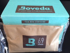 Boveda Large (60 gram) 2-Way Humidity Control Pack - Cigar Reserve Cedar Spills  - 4