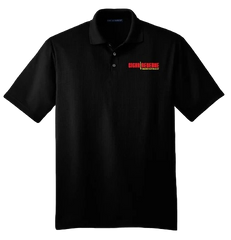 Cigar Reserve Black Polo Shirt