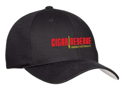 Cigar Reserve Black Flex Fit Cap