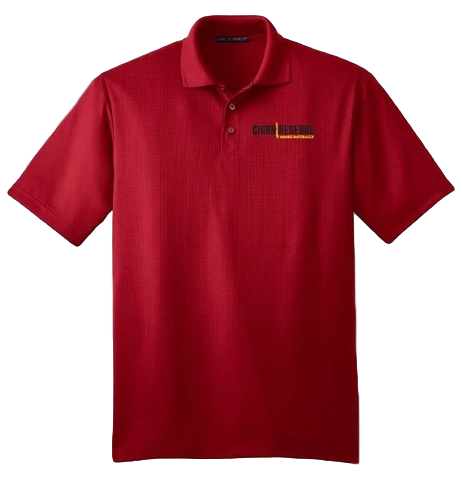 Cigar Reserve Red Polo Shirt
