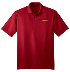 Cigar Reserve Red Polo Shirt - Cigar Reserve Cedar Spills  - 1