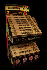Full Display - 18 (25 ct boxes) & 15 (50 ct boxes) - Cigar Reserve Cedar Spills  - 1