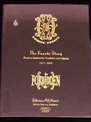 *Extremely Rare* 2008 Forbidden X Story Sampler - 4 Cigars (Very Limited)