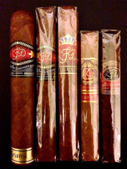 LFD Sampler No.1 - 5 Set - Cigar Reserve Cedar Spills