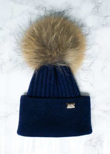 Navy - Royal Wool